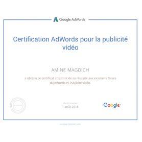 YouTube appartenant à Google passer la certification publicité vidéo avec Adwords vous permet de maîtriser le sujet et d'afficher vos publicités vidéo sur le réseau.  Les cours permettant d'obtenir la certification… Lire la suite